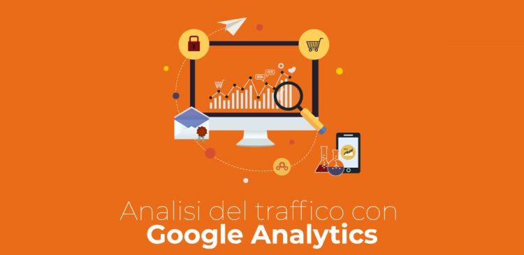 analisi del traffico con google analytics